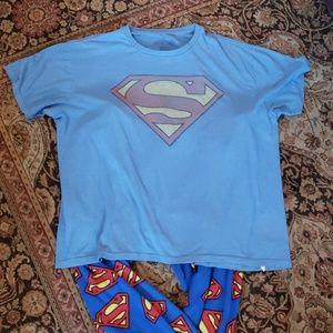 GAP Other - Gap DC Comics Superman pajama bundle